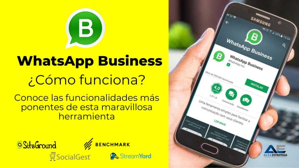 como funciona whatsapp business paso a paso