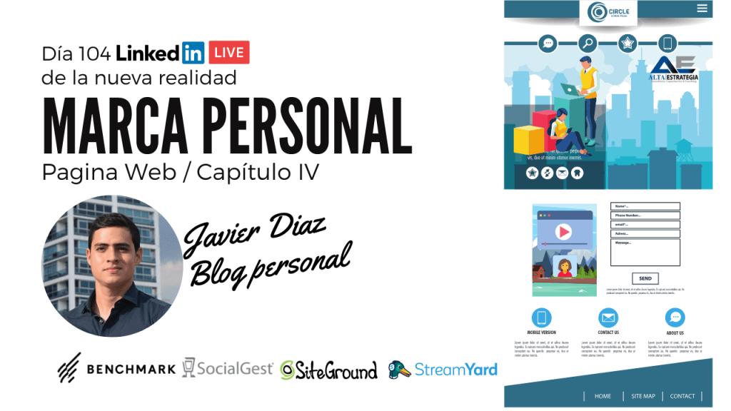 crea un blog para tu marca persona